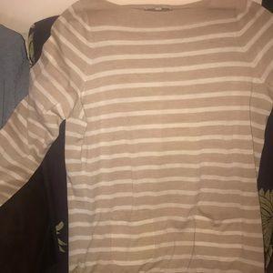 Loft striped sweater